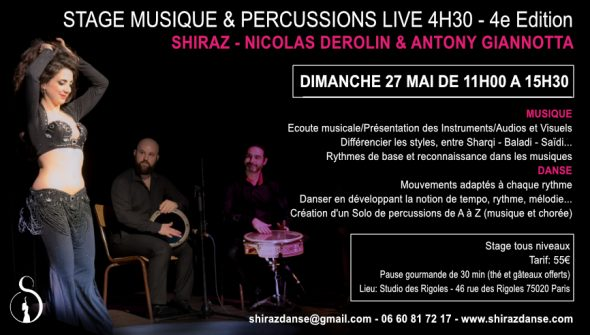 Stage Percussions 27Mai 2018